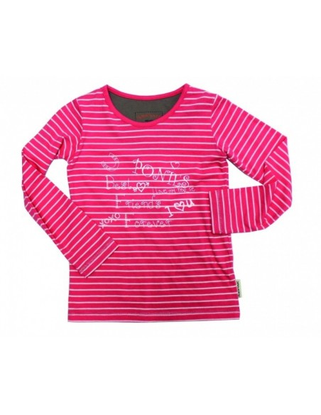 Horseware Girls Long Sleeve Top pink