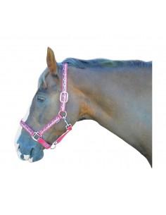 Hy Pony Love Head Collar Pink
