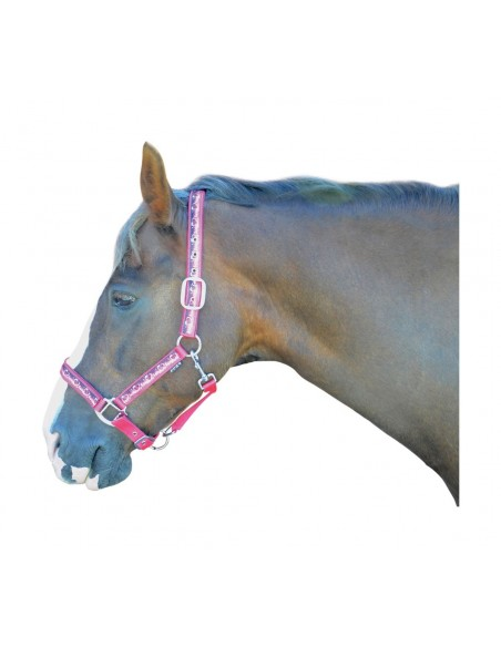 Hy Pony Love Head Collar Pink