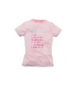 Harry Hall Wish List Junior T Shirt Pink