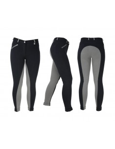 HyPERFORMANCE Manby Ladies Jodhpurs Black/Grey
