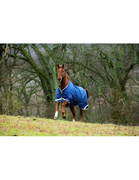 Horseware Rambo Original Turnout Rug with Leg Arches 100G Lite front
