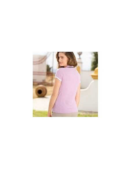Horseware Ladies Flamboro Sporty Top violet back