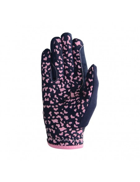 Molly Moo Childrens Riding Gloves Back