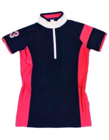 Eda SportyTechnical Ladies Polo Navy plain