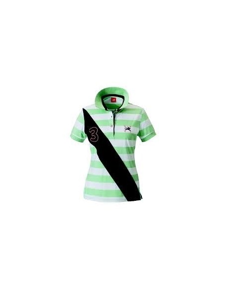 Tottie Robin ladies Polo Top peppermint
