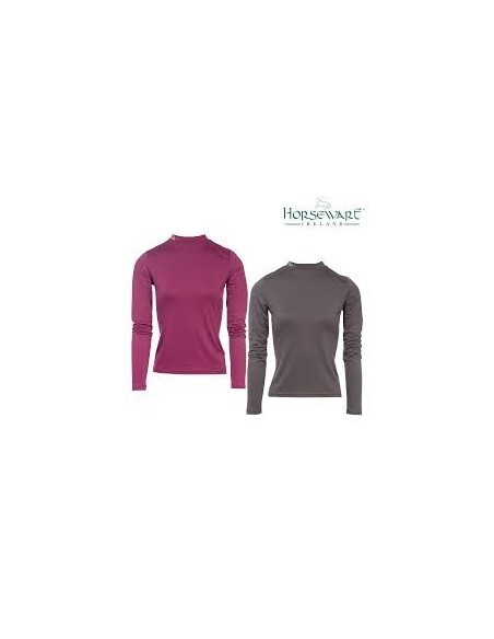 Horseware Keela Base Layer pewter and berry