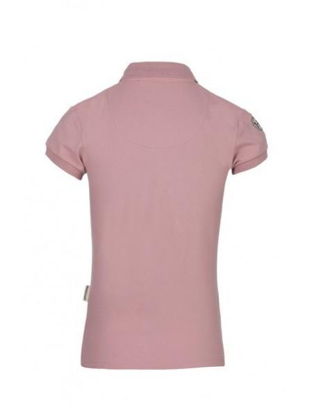 Horseware Flamboro Polo Shirt vintage pink back