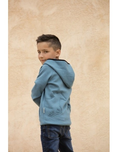 Horseware Kids Hoody blue back