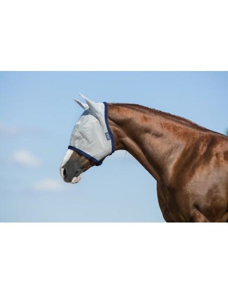 Horseware Amigo  Fly Mask silver purple