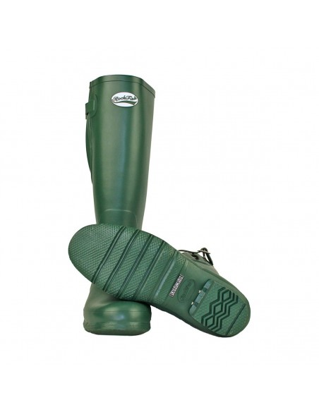Rockfish Women's Tall Adjustable Matt Wellington green bottom