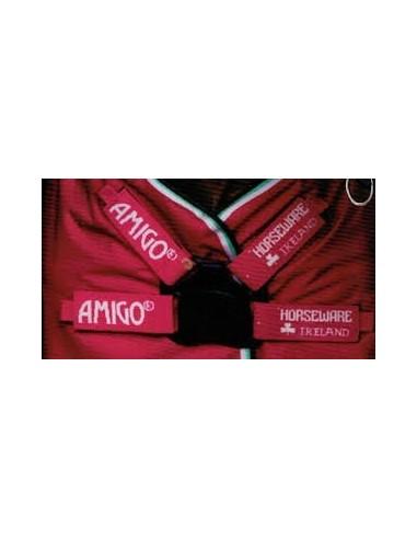 Horseware Amigo Hero 6 Lite 0G Turnout Rug - Disc Front Closure Beach