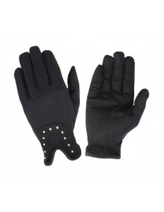 Hy5 Diamante Riding Gloves pair