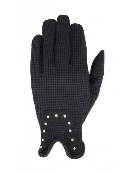 Hy5 Diamante Riding Gloves front