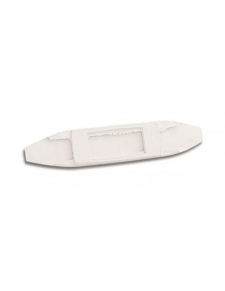 Lorina  Curb Chain Guard - Rubber White