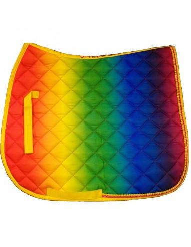 Rainbow Saddle Cloth