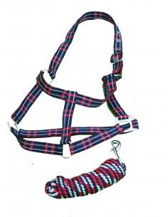 RWB Head Collar & Lead Rope