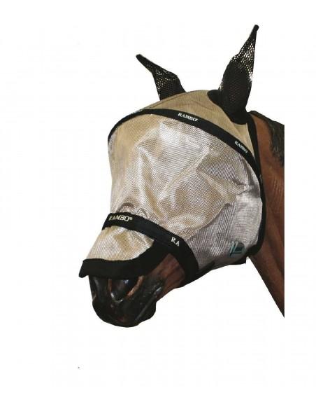Horseware Rambo Plus Flymask  Vamoose Oatmeal