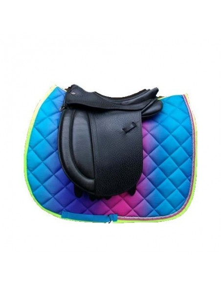Aqua Saddle Cloth