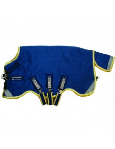 Horseware Rambo Original Turnout Rug with Leg Arches 100G Lite side