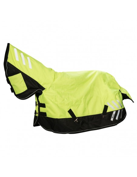Masta HI Viz 200g Fixed Neck Turnout Rug side