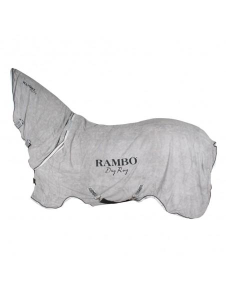 Rambo Dry Rug Grey Front