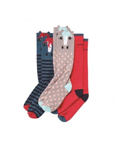 Harry Hall Junior Novelty Socks (3 Pack)