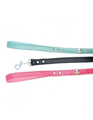 Companion Diamante Paw Print Dog Lead