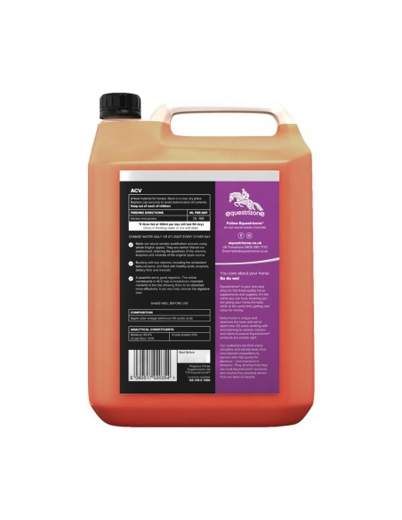 Equestrizone Apple Cider Vinegar Back