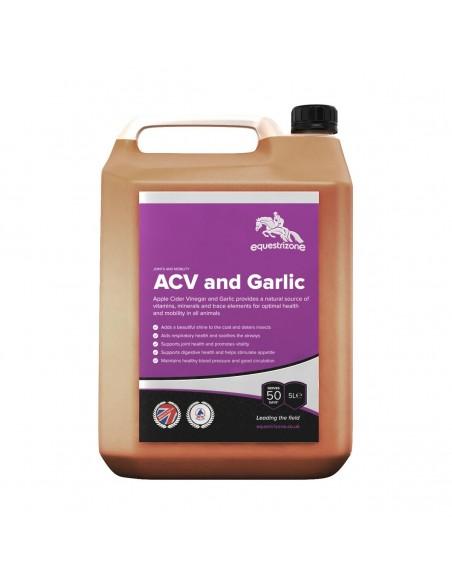 Equestrizone Apple Cider Vinegar with Garlic