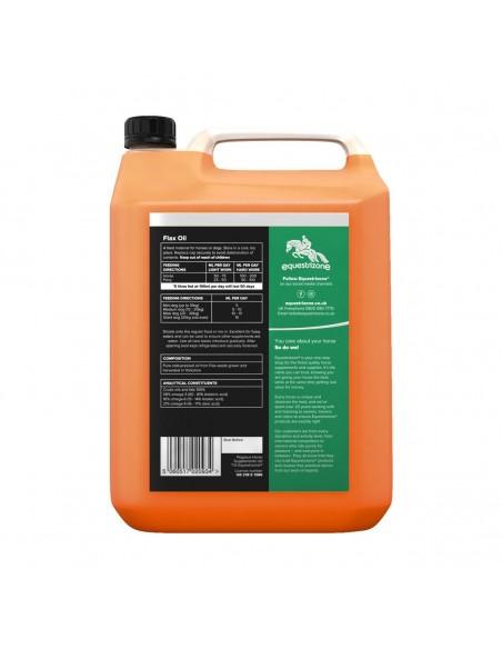 Equestrizone Flax Oil back
