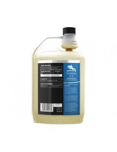 Equestrizone Liquid Garlic Solution back
