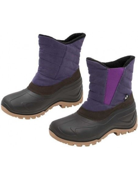 Ladies Yard Boots PURPLE AND BLUE