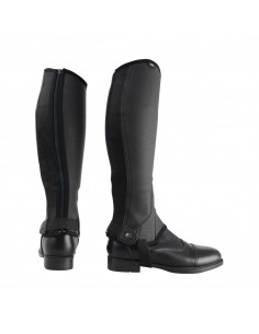 HyLAND Children's Synthetic Combi Leather Chaps Black