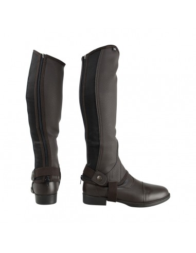 HyLAND Children's Synthetic Combi Leather Chaps Brown
