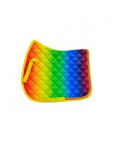 Sheldon Rainbow Saddle Cloth