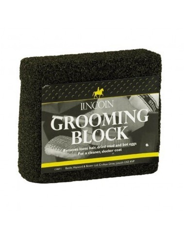 Lincoln Horse Coat Grooming Block